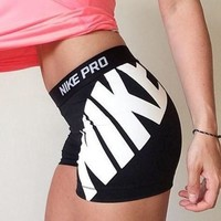 Nike Pro Women Workout Gear Sport Shorts