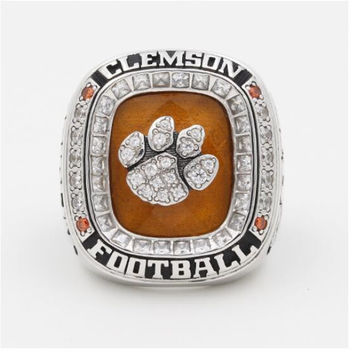 New arrivals 2015 orange bowl briglin clemson college football world championship ring for mens ring