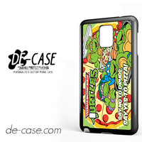 Tmnt Ninja Turtle Say Yes To Pizza For Samsung Galaxy Note 4 Case Phone Case Gift Present YO