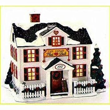 1997 Department 56 Christmas Ornament Ronald McDonald House - The House That Love Built