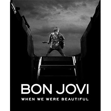 Bon Jovi: When We Were Beautiful 27x40 Movie Poster (2009)