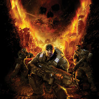 Gears of War Marcus Fenix video game poster 18x24