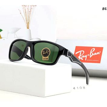 Ray-Ban men and women trend travel driving retro polarized sunglasses #4