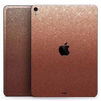 """Rose Gold Digital Falling Glitter - Full Body Skin Decal for the Apple iPad Pro 12.9"""", 11"""", 10.5"""", 9.7"""", Air or Mini (All Models Available)"""