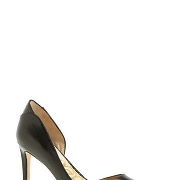 Women's Sam Edelman 'Onyx' Half d'Orsay Pointy Toe Pump,