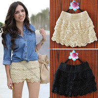 Lace Shorts from Blush! A Boutique