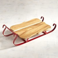 Pier 1 Imports Sleigh Serving Board