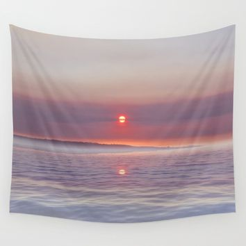 Magical Sunset Wall Tapestry by Viviana Gonzalez