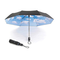 Rain or Shine, Clear Sky Umbrella