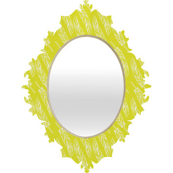 Allyson Johnson Neon Feathers Baroque Mirror
