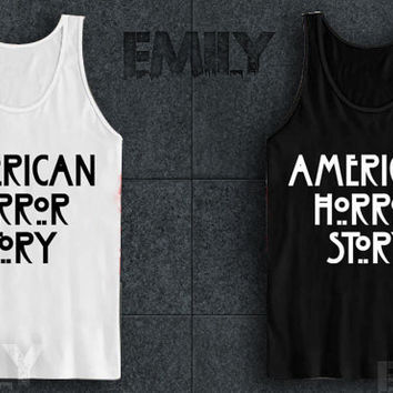 american horror story for tank top mens and tank top girls