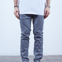 Silver | Chino Slim Fit