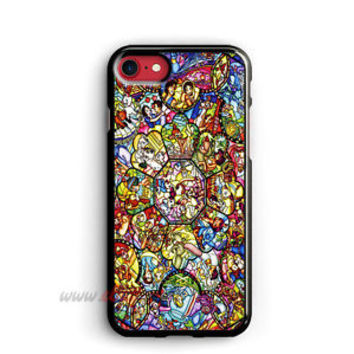 all character disney Case for iPhone 5 5S 6 6S 7 8 Plus X Samsung Case Cover