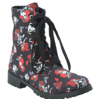 Disney The Little Mermaid Ariel & Flounder Combat Boot