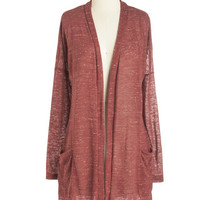 ModCloth Long Long Sleeve Talk to You Swoon Cardigan