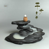 New Black Ceramic Incense Burner