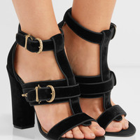 Paul Andrew - Aslihan velvet sandals