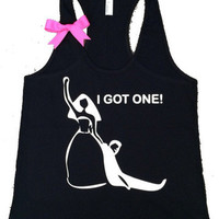 I Got One Tank- Bride Tank - Bridal Shower tank - Ruffles with Love