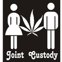 Joint Custody T-shirt | Funny Weed T-shirts | Cannabis T-shirts