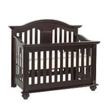 Baby Cache Kensington Lifetime Convertible Crib - Java