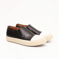 Mens RO Leather Slip-on Sneakers at Fabrixquare