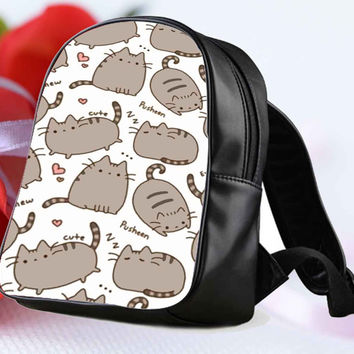 Pusheen The Cat for Backpack / Custom Bag / School Bag / Children Bag / Custom School Bag **