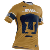 KUYOU Mexico Pumas UNAM 2018 Third Away Men Soccer Jersey Personalized Name and Number