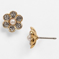 Juicy Couture 'Juicy at Heart' Pavé Daisy Stud Earrings | Nordstrom