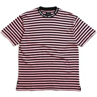 24HR Striped T-Shirt Pink