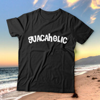 Guacaholic tshirts for women girls funny slogan food cook chef guacamole quotes fashion cute tumblr instagram stylish hipster fashionista