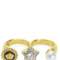 Triple Finger Icon Ring by Juicy Couture