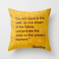Words from the Wise Throw Pillow by RichCaspian | Society6