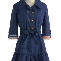 Tulle Clothing Jaunt and Flaunt Coat | Mod Retro Vintage Coats | ModCloth.com