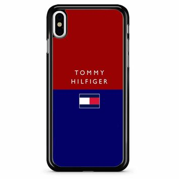 Tommy Hilfiger 3 iPhone X Case