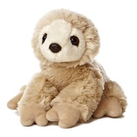 "8"" Aurora Plush Two Toed Sloth Mini Flopsie Stuffed Animal Toy 31355"