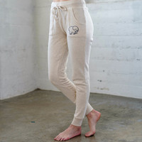 Heather Oatmeal Jogger