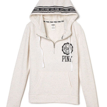 Perfect Half-Zip Hoodie - Victoria's from VS PINK | Quick