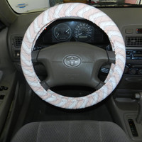 Stripe and Dot Bliss Chevron Steering Wheel Cover