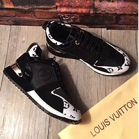 LV Louis Vuitton Popular Woman Print Casual Sneakers Shoes I