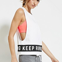 Active Keep Running Muscle Tee