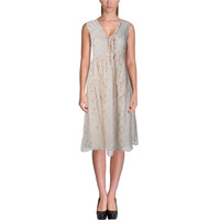 Free People Womens Cotton Printed Casual Dress