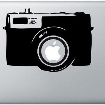 camera mac sticker mac macbook decal mac decal by AppleParadise