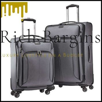 Samsonite 2-Piece Spherion Luggage Set - Charcoal