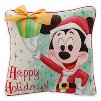 Mickey Mouse Holiday Pillow
