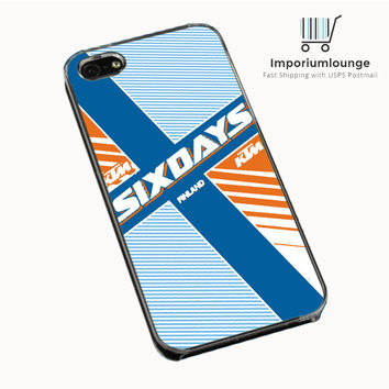 Ktm Motorcycle Six Days Finland Mx IPhone 4| 4S Cases