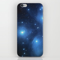 The Pleiades Star Cluster iPhone Skin by Knm Designs