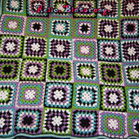 Granny Square Throw