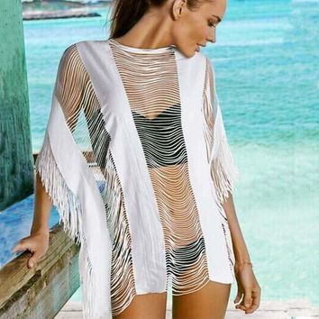 New Bikinis Cover Ups Hollow Sexy Swimsuit Cover Up