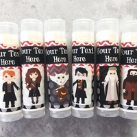 School of Witchcraft and Wizardry Lip Balm – Free Customization