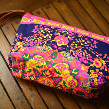 Handbags Clutch Bag Wrist let Tribal Cosmetic Bag Clutch Purse Hipster Bags, Handbag Bag Nepali Hippie Boho Woven Summer Hobo Yoga.